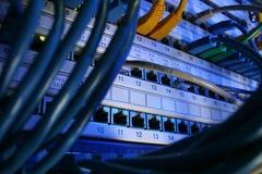Câble de réseau Images stock