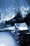 Câble de réseau Photo libre de droits