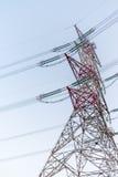 Câble de tour de puissance Photos stock