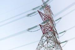 Câble de tour de puissance Image libre de droits
