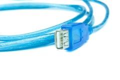 Câble de transfert de données images stock