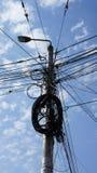 câble des connexions disponibles Image libre de droits