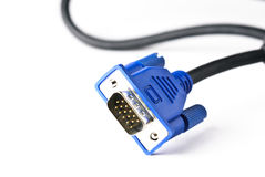 Câble du VGA Photographie stock