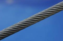 Câble en acier Images stock