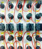 Câble et couleurs Images stock