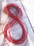 Câble huit Photographie stock libre de droits