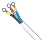 Câble industriel Images stock