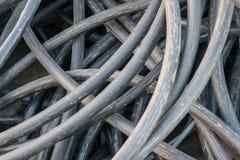 Câble industriel ferraillé Photographie stock libre de droits