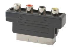 Câble l'adaptateur Photo stock