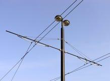 câble la tramway supplémentaire Photos stock