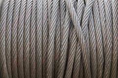 Câble lourd de fil d'acier Photographie stock
