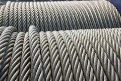 Câble métallique photographie stock