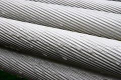 Câble métallique Photo libre de droits