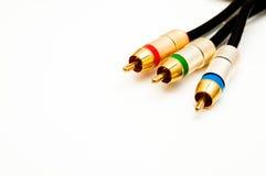 Câble moderne de faisceau Image libre de droits