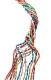 Câble multicolore Photos libres de droits