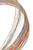 Câble multicolore d'ordinateur Photo libre de droits
