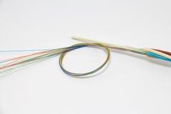 Câble optique de fibre Images stock