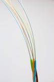 Câble optique de fibre Photographie stock