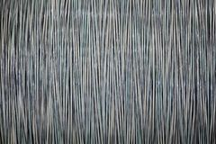 Câble optique de fibre sur des bobines photo stock