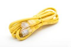 Câble RJ45 de télécommunication Images stock
