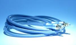 Câble sonore de fibre Images libres de droits