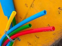 Câble sur le tambour de câble Photographie stock libre de droits