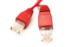 Câble téléphonique Photos libres de droits