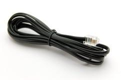 Câble téléphonique Images stock