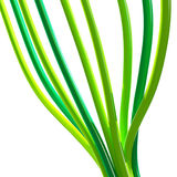 Câble vert Illustration Libre de Droits