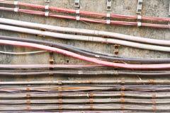 Câbles électriques Image libre de droits
