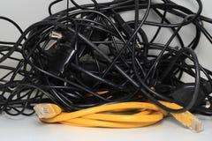 Câbles électriques Photos libres de droits