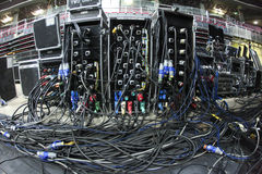 Câbles Images stock