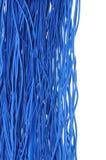 Câbles bleus Photographie stock libre de droits