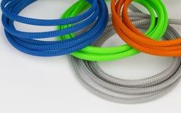 Câbles colorés Images stock