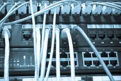 Câbles d'Ethernet Image libre de droits