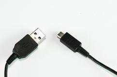 Câbles d'USB Images libres de droits