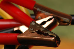 Câbles de cavalier Images stock