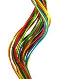 Câbles de couleur Image libre de droits