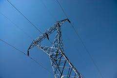 Câbles de l'électricité Photo libre de droits