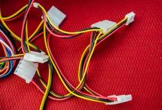 Câbles de PC Photo libre de droits
