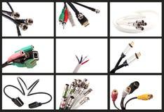 Câbles de poids du commerce Images stock