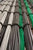 Câbles de réseau Photo stock