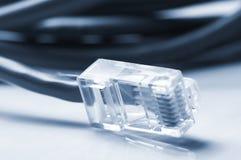 Câbles de réseau et de correction Photos stock