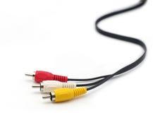 Câbles de TV Photos stock