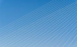Câbles en acier Images stock