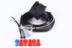 Câbles, pouvoir, électrique Photo stock