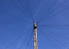 Câbles téléphoniques photo libre de droits