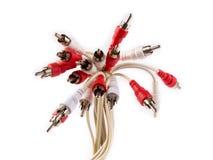 Câbles visuels 2 de composant Photographie stock