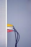 Câbles visuels sonores Images stock