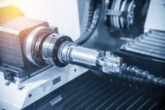 Câblez les machines d'érosion pour le traitement des tranchants d'outil images libres de droits